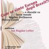 """Despre """"Cum se simte Europa după Brexit?!"""", la Cafeneaua critică"""