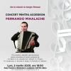 De la classic la tango finesse. Concert pentru acordeon susținut de Fernando Mihalache la Biblioteca ASTRA
