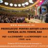 """Corul Național de Cameră """"Madrigal – Marin Constantin"""" anunță preselecție națională pentru artiști lirici"""