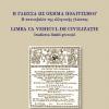 """""""Limba ca vehicul de civilizație. Iradierea limbii grecești"""", de Vassilis Papadopoulos"""