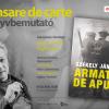 """Székely János: """"Armata de apus (A nyugati hadtest)""""- lansare de carte și spectacol lectură la Institutul Balassi – Institutul Maghiar din București"""