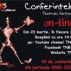 Modificări în orarul de difuzare on-line a Conferințelor TNB
