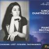 """Eveniment muzical excepţional Editura Casa Radio: lansarea albumului """"Ilinca Dumitrescu – Recital de pian"""""""