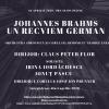 """""""Un Recviem German"""" de Brahms, în Joia Mare, în stagiunea online a Filarmonicii """"George Enescu"""""""