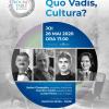 Quo Vadis, Cultura? Serie nouă Round Table România. Invitați: Ștefan Gheorghiu, Dumitru Costin, Lucian Pavel
