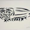 Gorzo oferă gratuit 2.000 de lucrări originale, imprimate manual, prin tehnica stencil