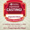 Casting pentru trupa de improvizație a Teatrului Arte dell' Anima