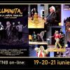 """Ultima săptămână de prezență on-line a TNB: comemorarea lui Eminescu și spectacolul """"Luminița de la capătul tunelului.."""""""