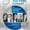 """Despre cultură: între vocație, legislație și taxe. O nouă ediție """"Quo Vadis, Cultura?"""" cu Alexandra Velniciuc, Mădălin Niculeasa. Invitat special: Ștefan Velniciuc"""