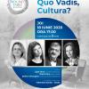 """Despre viitorul profesiilor culturale, la """"Quo Vadis, Cultura?"""""""