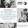 """Spectacol de teatru, """" De la Caragiale la Șalom Alehem"""", la MNLR"""