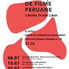Proiecții de filme peruane în aer liber, la Institutul Cervantes din București