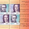 """Emisiunea de mărci poștale """"Ludwig van Beethoven, 250 de ani de la naștere"""""""