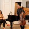 Premieră la Viena: Enescu și Silvestri, omagiați de pianista Raluca Știrbăț şi de violoncelistul Rudolf Leopold