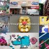 Descoperă un nou videoclip care dezvăluie picturi murale proaspete și intervenții de artă stradală pe zidurile Bucureștiului