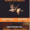 Gabriel Croitoru şi Vioara lui Enescu cântă în trei oraşe din Moldova în turneul aniversar Beethoven 250