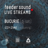 feeder sound LIVE STREAMS cu Bucurie (dj set) și iZZY iZVNE (live painting)