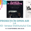 Institutul Cervantes găzduiește proiecții Película, în aer liber, pe terasă