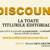 Campanie editura Tracus Arte: 25% discount