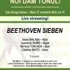 Beethoven Sieben deschide stagiunea Noi dăm tonul !