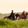 VIDEO. Scene de film care surprind lupta lui Vlad Țepeș cu Radu cel Frumos, filmate pe Valea Avrigului