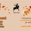 Discounturi de brumărel, în exclusivitate pe website-ul editurii Tracus Arte