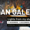 "Ioan Galea expune ""Lights from my studio"" la Galeria Galateca"