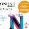 "Lansare live & online: ""Opere IV. Varia"" de Gellu Naum"