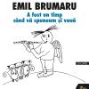 """Lansare: """"A fost un timp când vă spuneam şi vouă"""" de Emil Brumaru"""