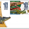 """Emisiunea de mărci poștale """"Crocodili"""""""