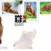 """Emisiunea de mărci poștale intitulată """"Urși"""""""