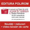 Editura Polirom la Gaudeamus 2020, ediție exclusiv online. Program de evenimente