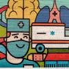 Artă murală la Serviciul de Ambulanță Județean Iași