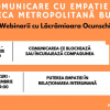 """""""Comunicarea cu empatie"""", webinarii gratuite la Biblioteca Metropolitană București"""