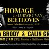ZIUA BEETHOVEN. Sonata Pathétique, interpretată în cheie jazz, în premieră mondială,  de Teodora Enache Brody și Călin Grigoriu