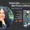 Simona Goșu în dialog LIVE & ONLINE cu Alina Purcaru și Marius Chivu