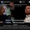 """Mischa Maisky și Christian Badea, doi artiști excepționali, în stagiunea online a Filarmonicii """"George Enescu"""""""