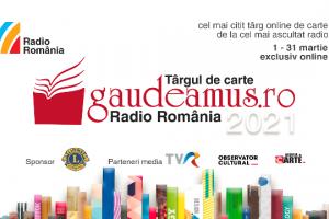 Târgul de Carte Gaudeamus Radio România – ediție online martie 2021