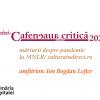 Magda Cârneci  și Victor Ivanovici, la mini-Cafeneaua critică on-line