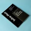 """Primul număr al publicației de tip revistă """"Infra-Noir"""""""