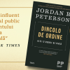 """Cea mai recentă carte a psihologului Jordan B. Peterson,""""Dincolo de ordine. Alte 12 reguli de viață"""" – în premieră în România"""