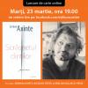 """Lansare de carte online: """"Scrâșnetul dinților"""", de Șerban Axinte"""