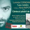 """Tudor Ganea și """"Cântecul păsării de plajă"""": live & online"""