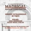 Concertul de Paște al Corului Madrigal, la Palatul Regal