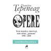 """""""Opere 9. Texte teoretice, interviuri, note critice, """"șotroane"""" 1990 – 2000"""", de Dumitru Țepeneag"""