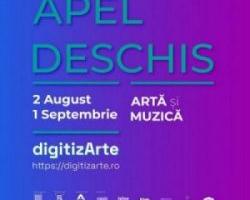 digitizArte – apel deschis pentru contribuții: arte vizuale și muzică