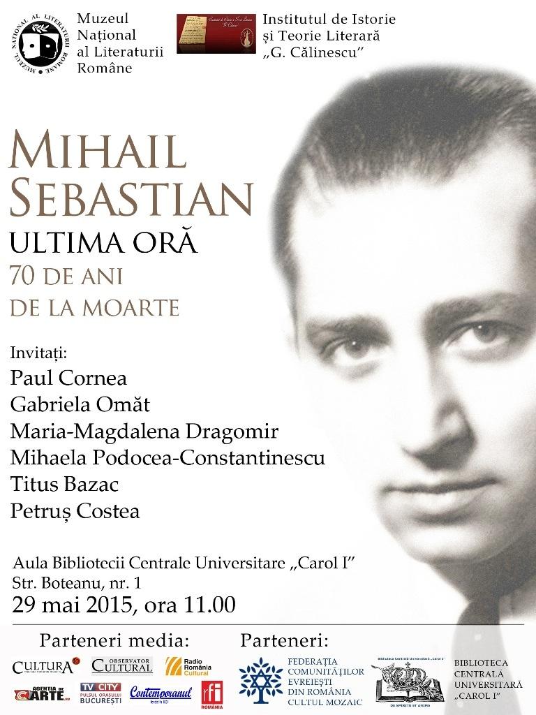 Romanian Personalities - Mihail Sebastian  |Mihail Sebastian