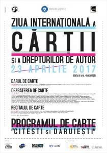 A şasea ediţie a PROGRAMULUI DE CARTE celebrează Ziua Internaţională a Cărţii şi a Drepturilor de Autor şi Ziua Bibliotecarului din România