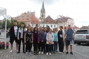 15 mici artiști, într-o tabără de pictură la Sibiel și Ațel