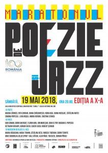 Maratonul de Poezie și Jazz, o ediție de 10!